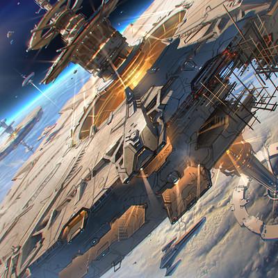 Sviatoslav gerasimchuk space station