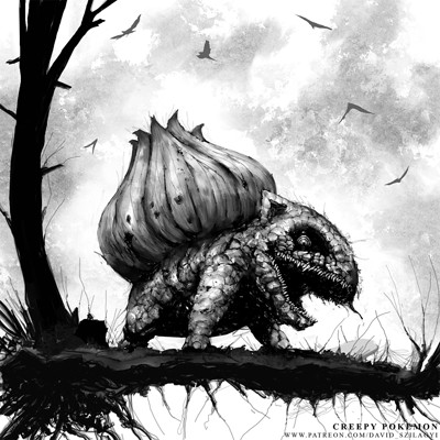 David szilagyi 001 bulbasaur davidszilagyi nightmarefuelpokemon lowres