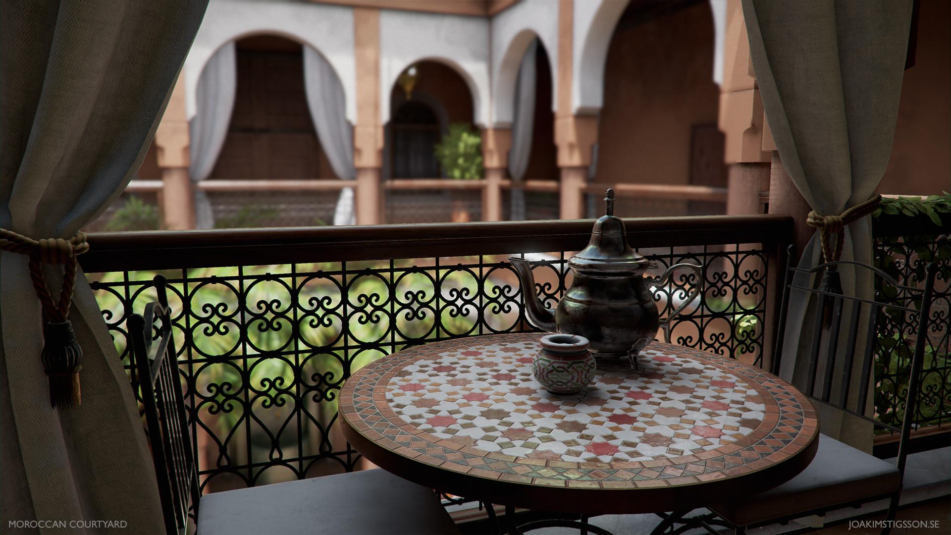 Joakim stigsson moroccan courtyard 02