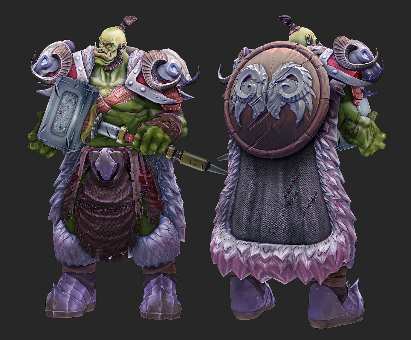 Eric wilkinson orc zbrush complete5
