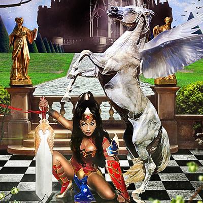 Obum asota wonderwoman