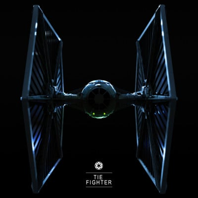Callum whitehead tie fighter