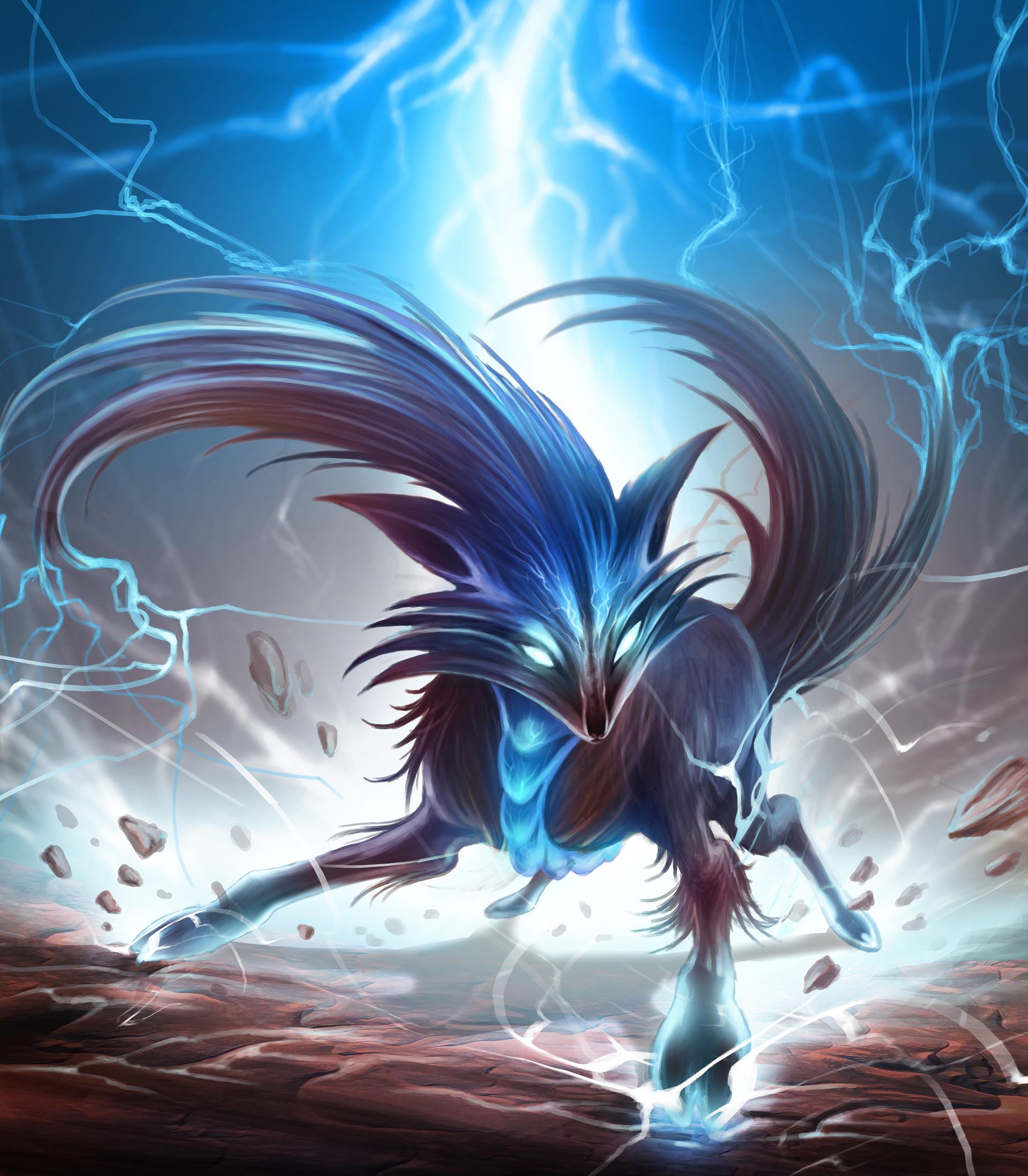 Chalmer relatorre small lightning creature