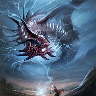 Chalmer relatorre giant lightning creature