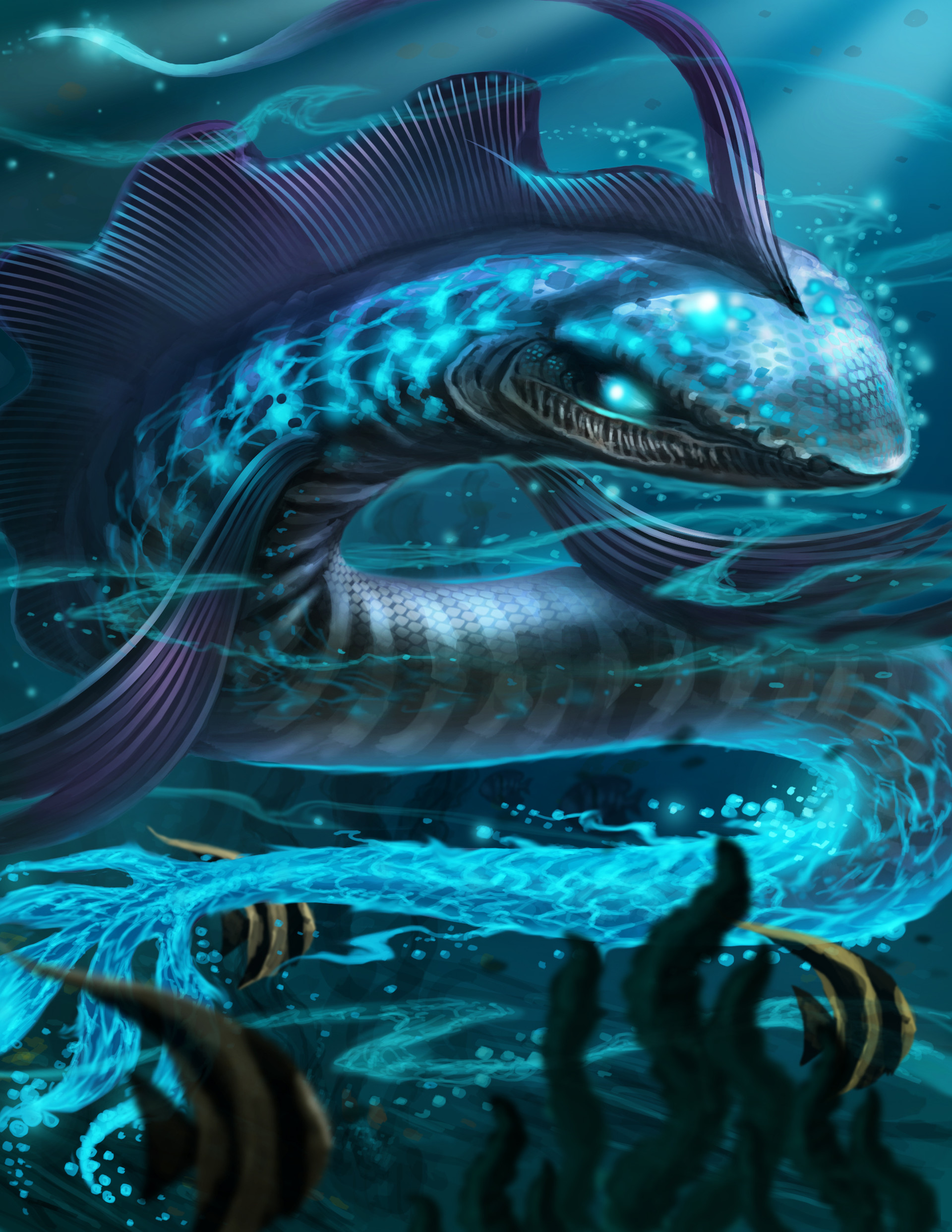 Chalmer relatorre water elemental eel