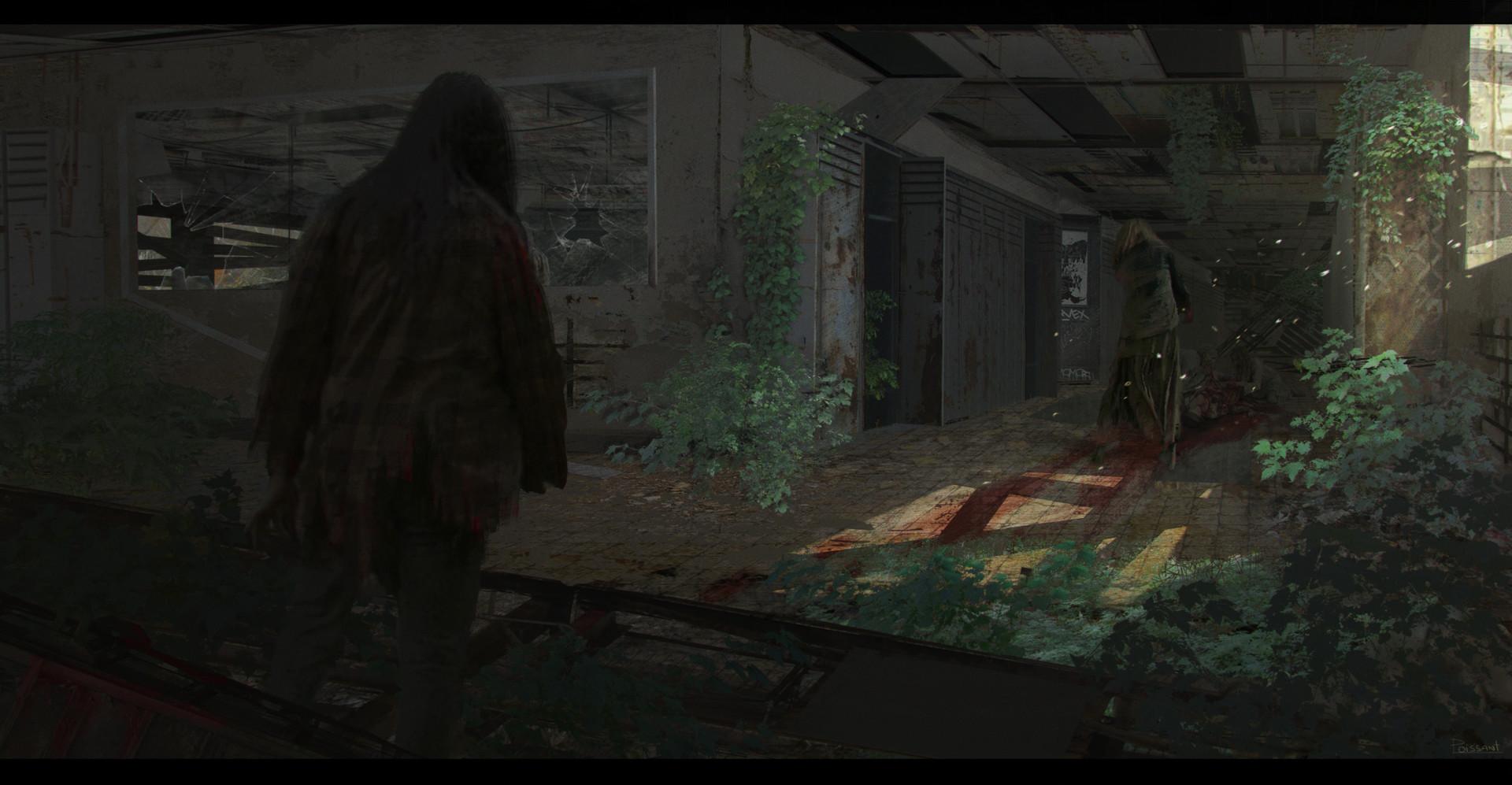 Emile poissant walkingdead fanart