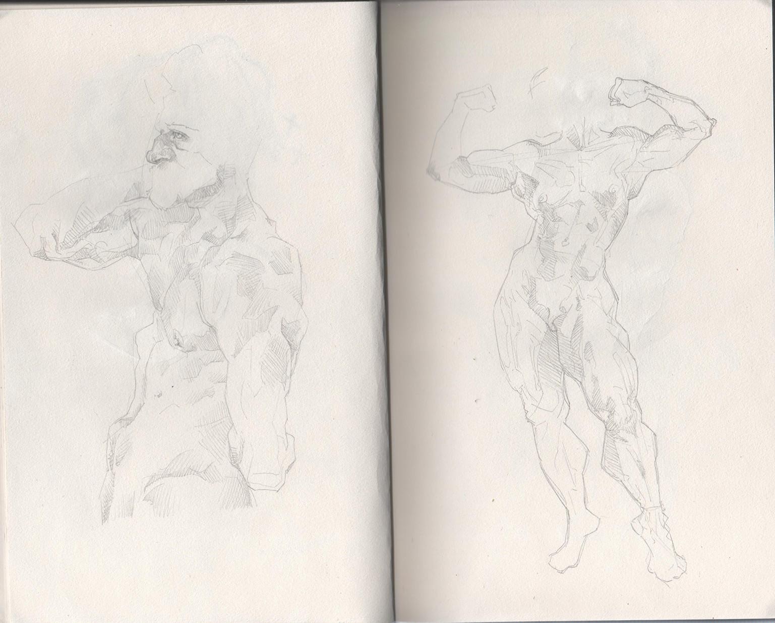 Tony gbeulie post sketch6