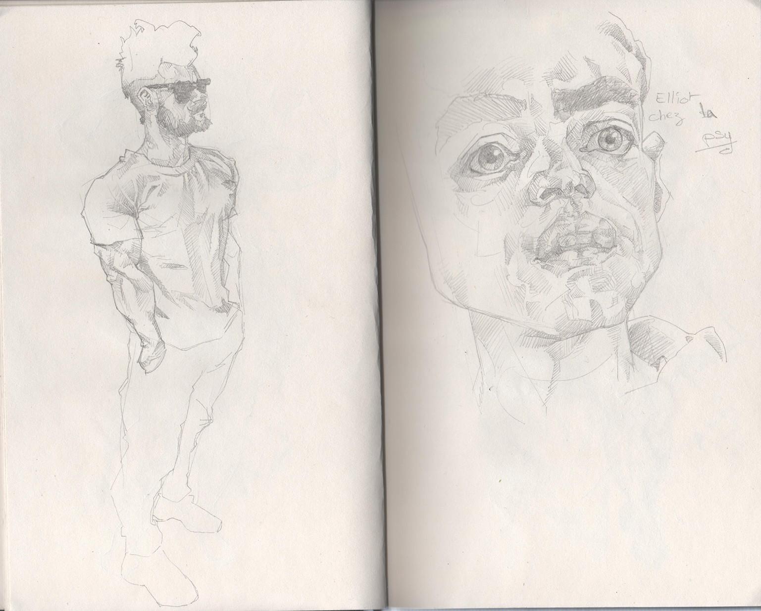 Tony gbeulie post sketch7