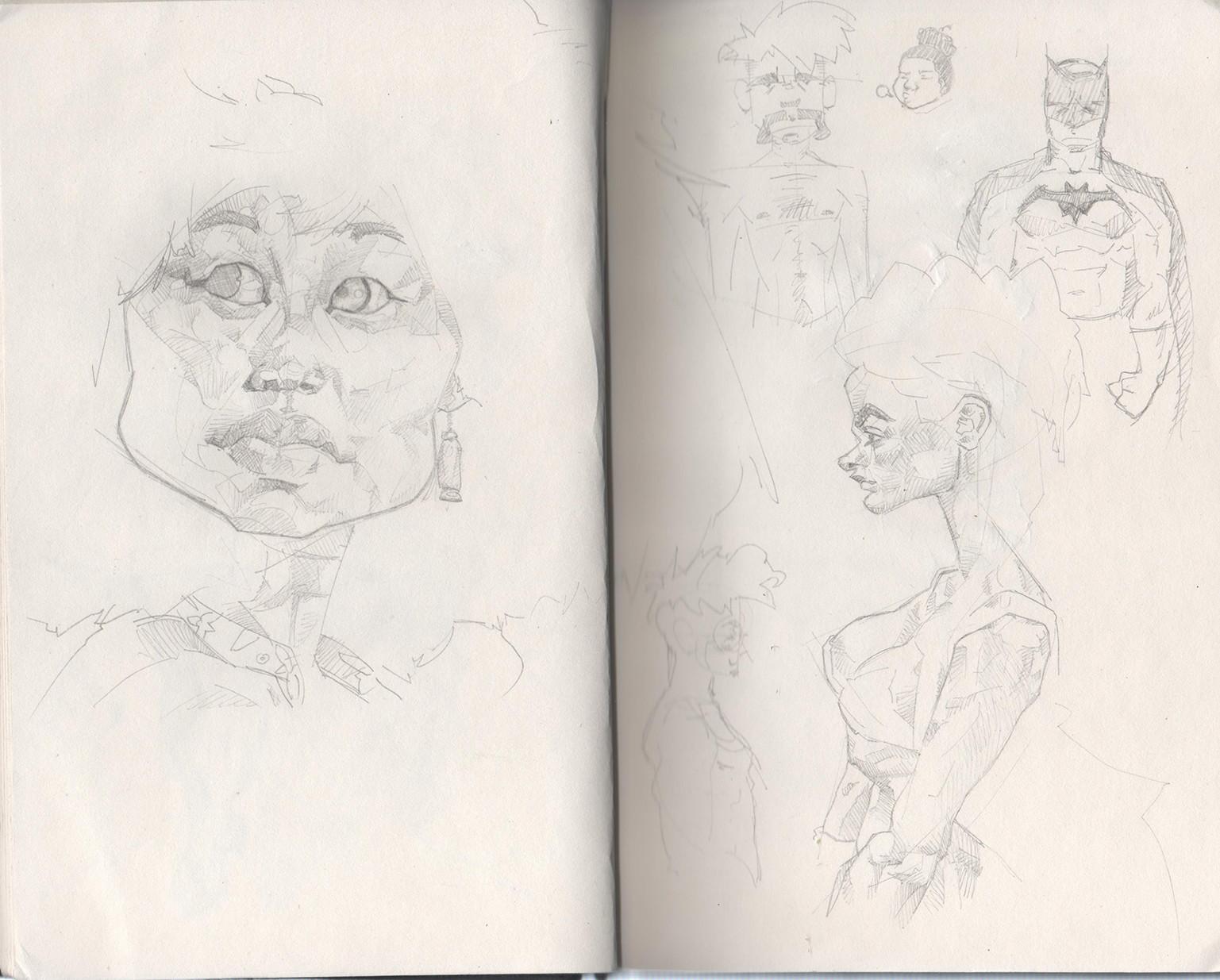 Tony gbeulie post sketch9