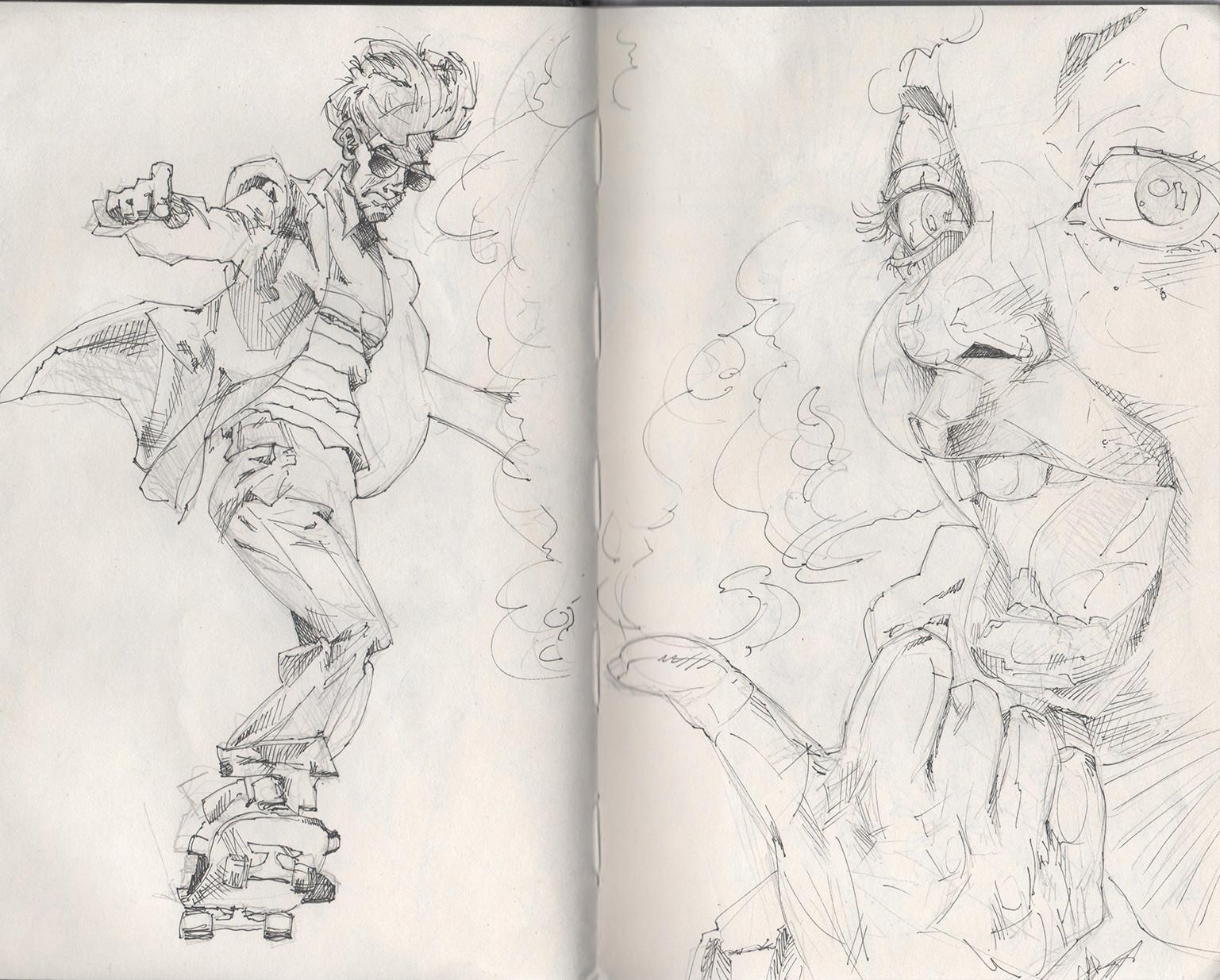 Tony gbeulie post sketch2