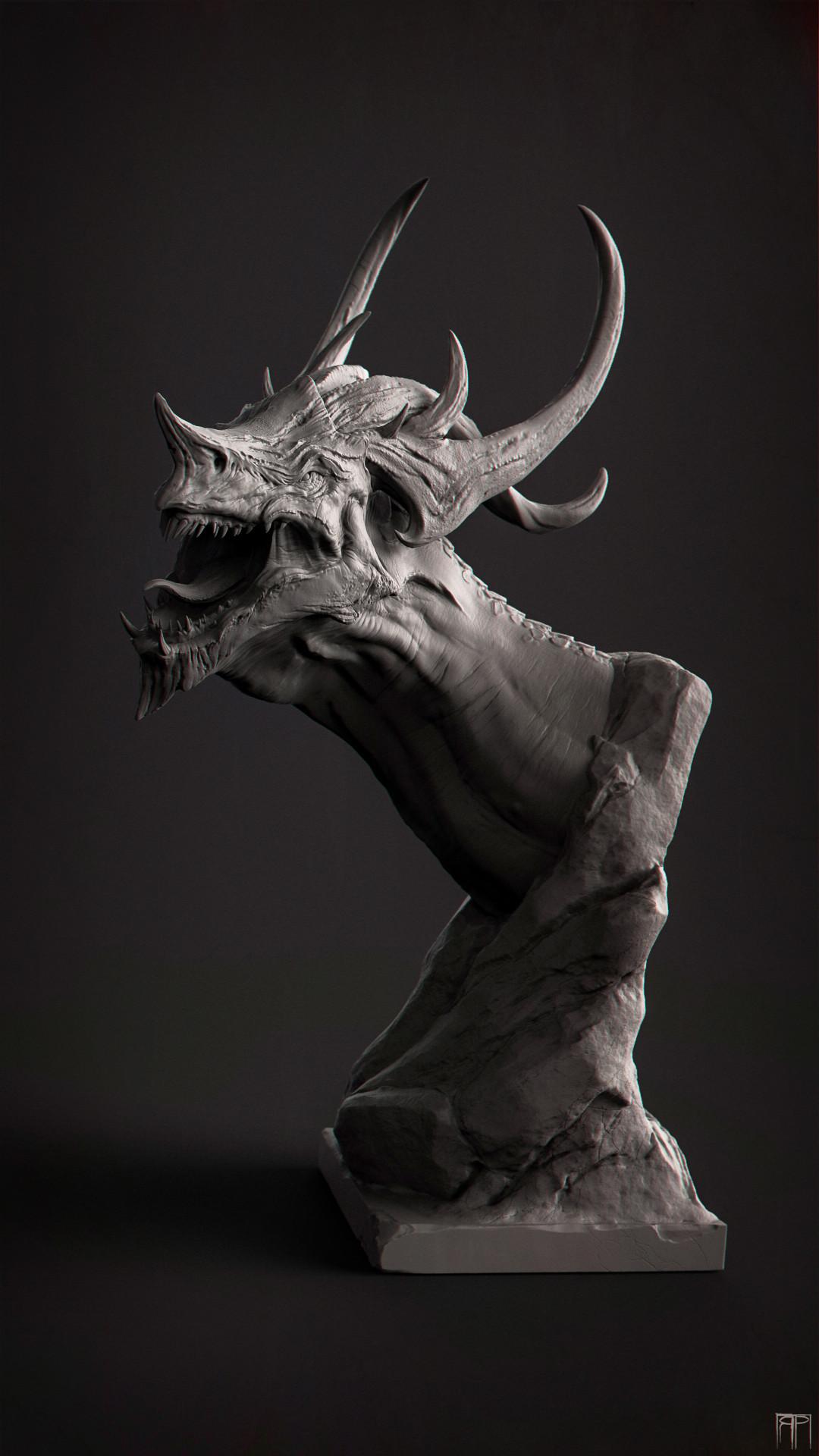 Romain pommier dragon head 2