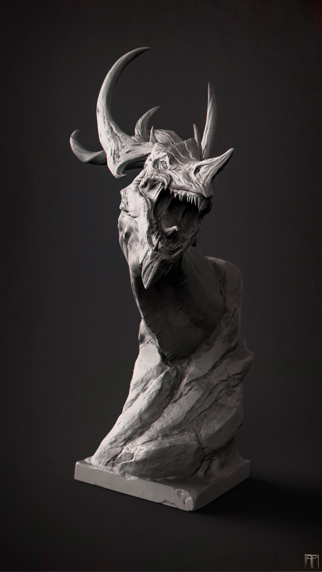 Romain pommier dragon head 3