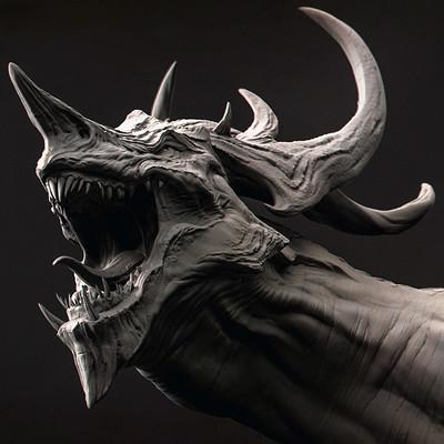 Romain pommier dragon head