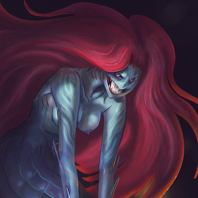 Loic liok bramoulle cdchallenge mermaid
