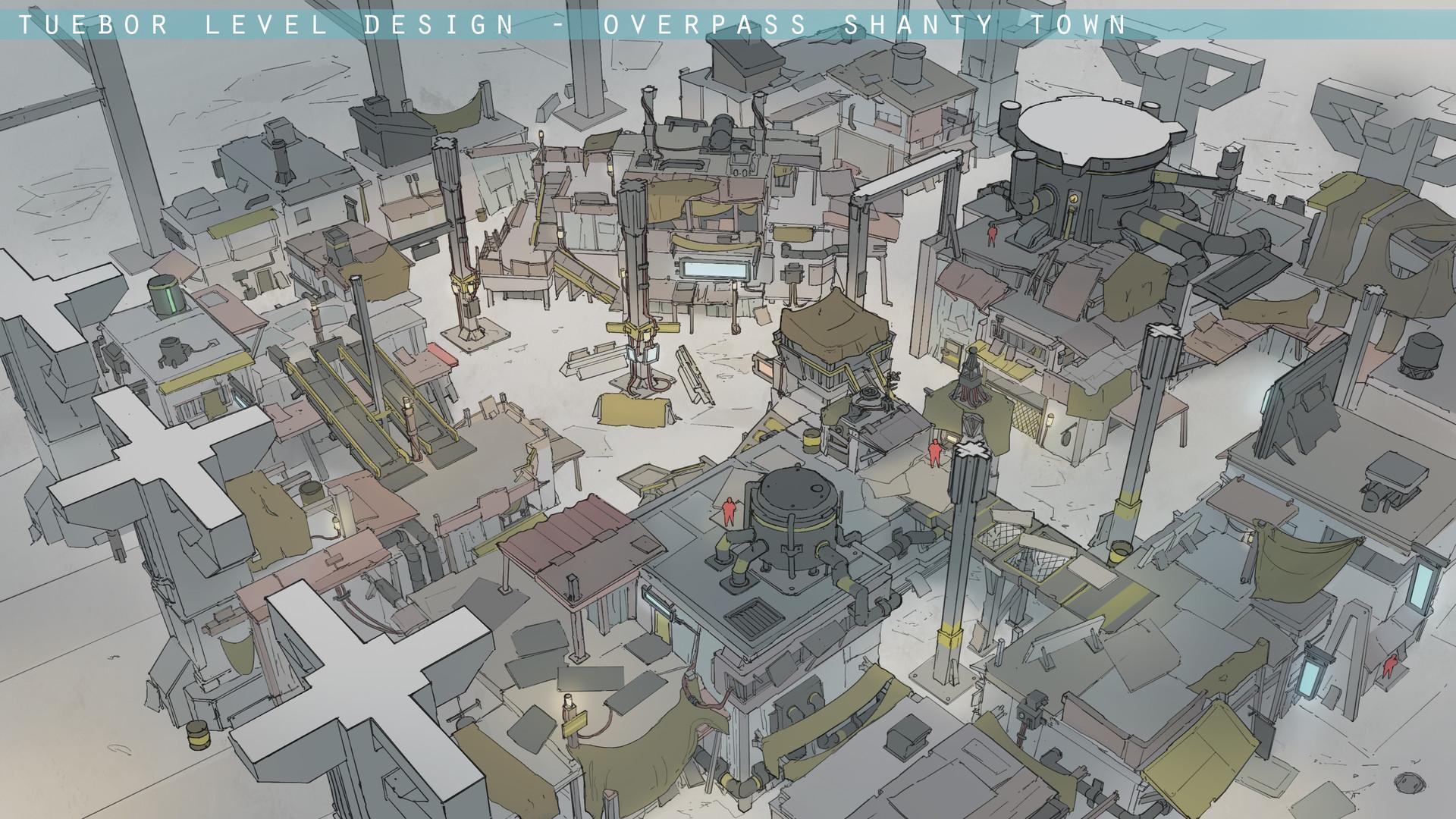 Franklin chan overpass level design 03
