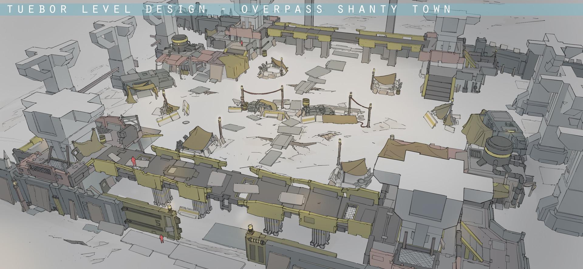 Franklin chan overpass level design 02