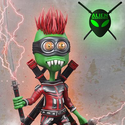 Marc mons red alien