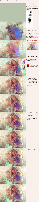 Marta nael digital impressionism tutorial by martanael d31to6m