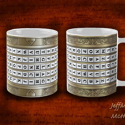 Jeff mcdowall da vinci mugs
