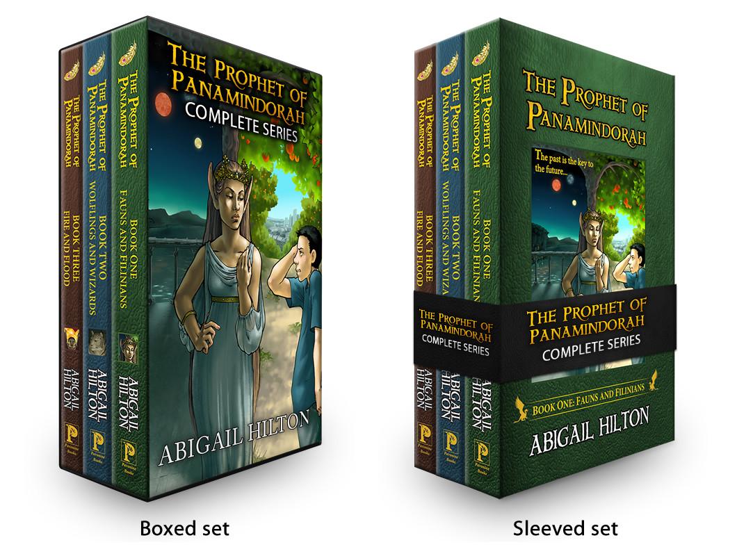 Jeff mcdowall prophet series boxed set mockups