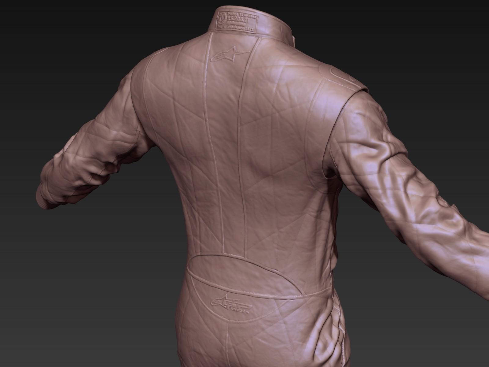 Toby hynes as suit sculpt detail 02