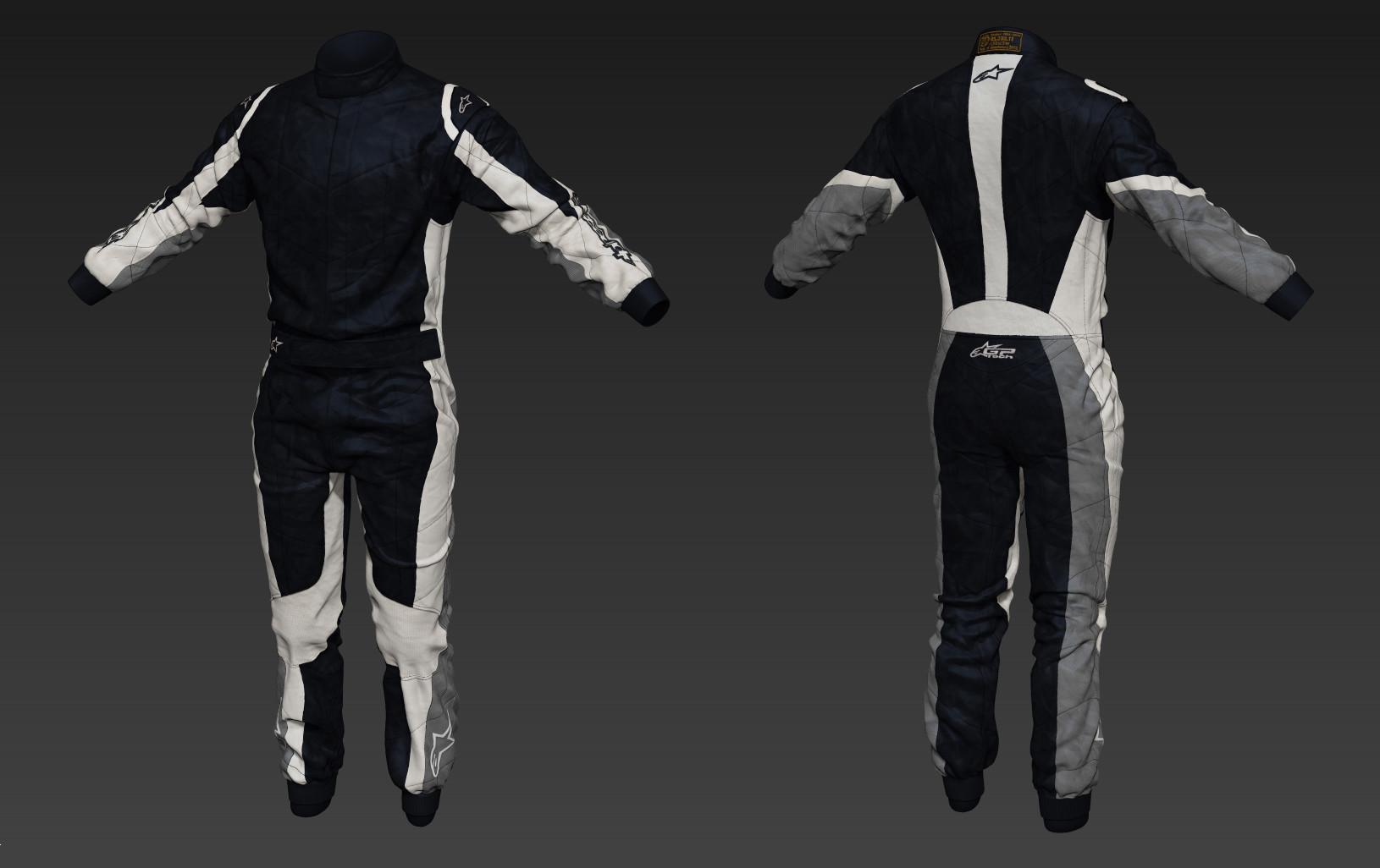 Toby hynes as suit sculpt textured 01