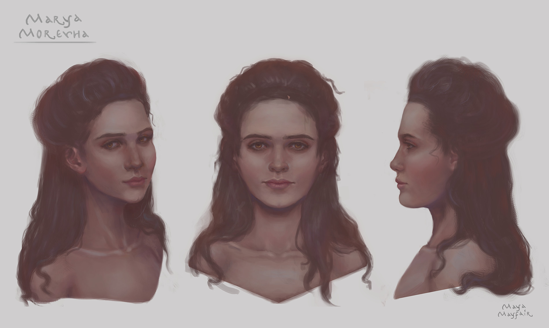 Maya grishanowitch marya faces taotb
