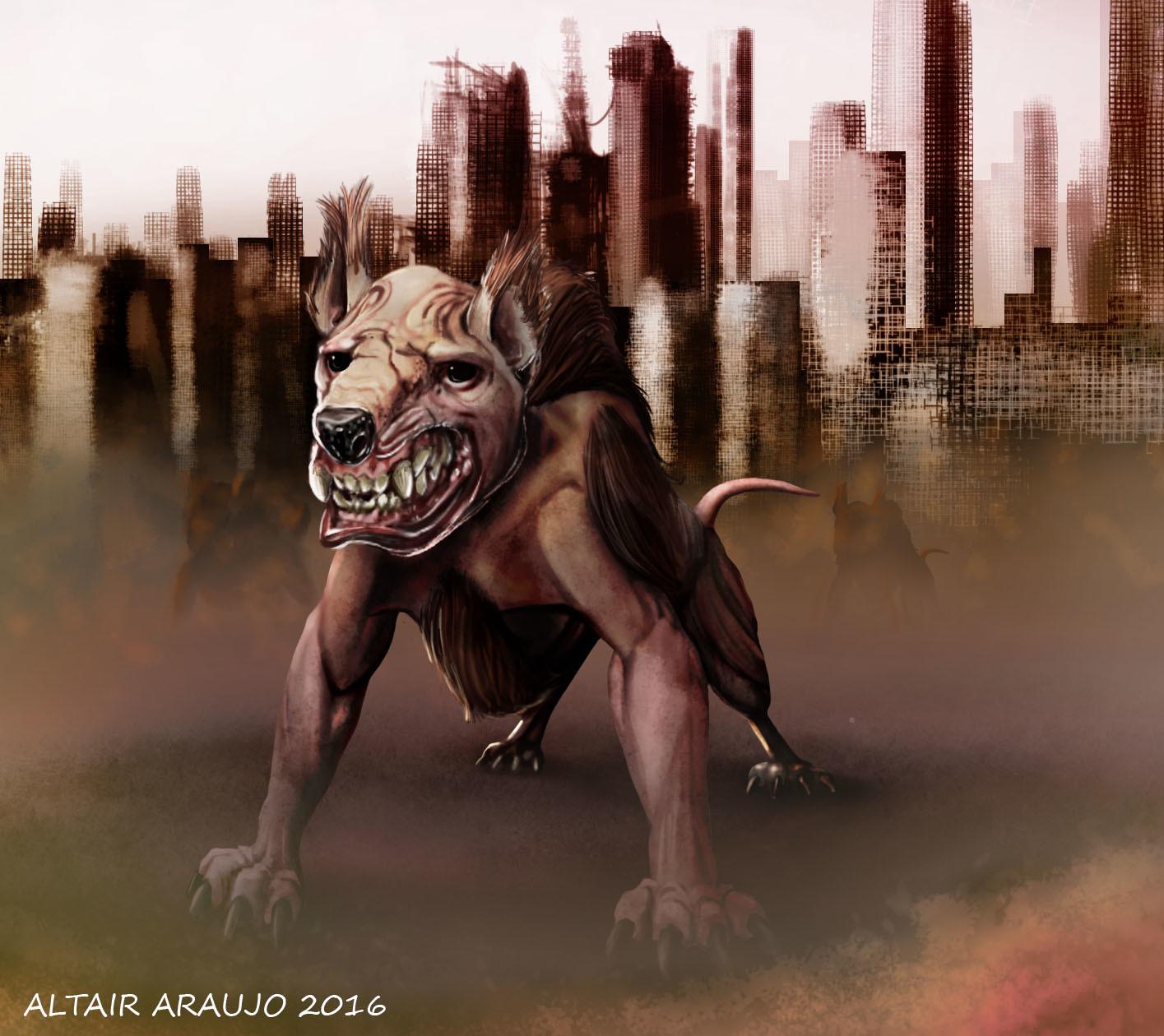Altair araujo feral dog