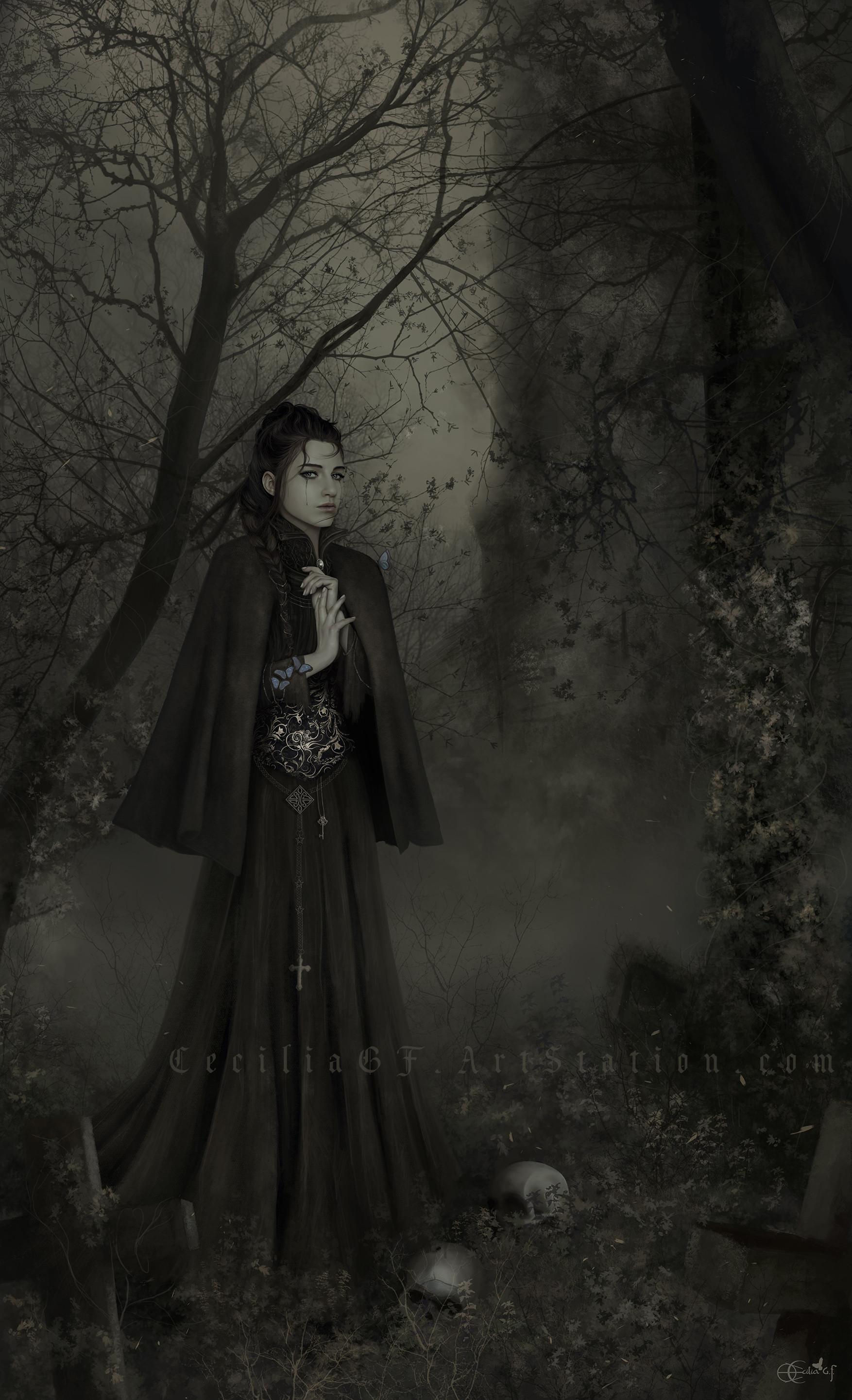 Cecilia g f ghost