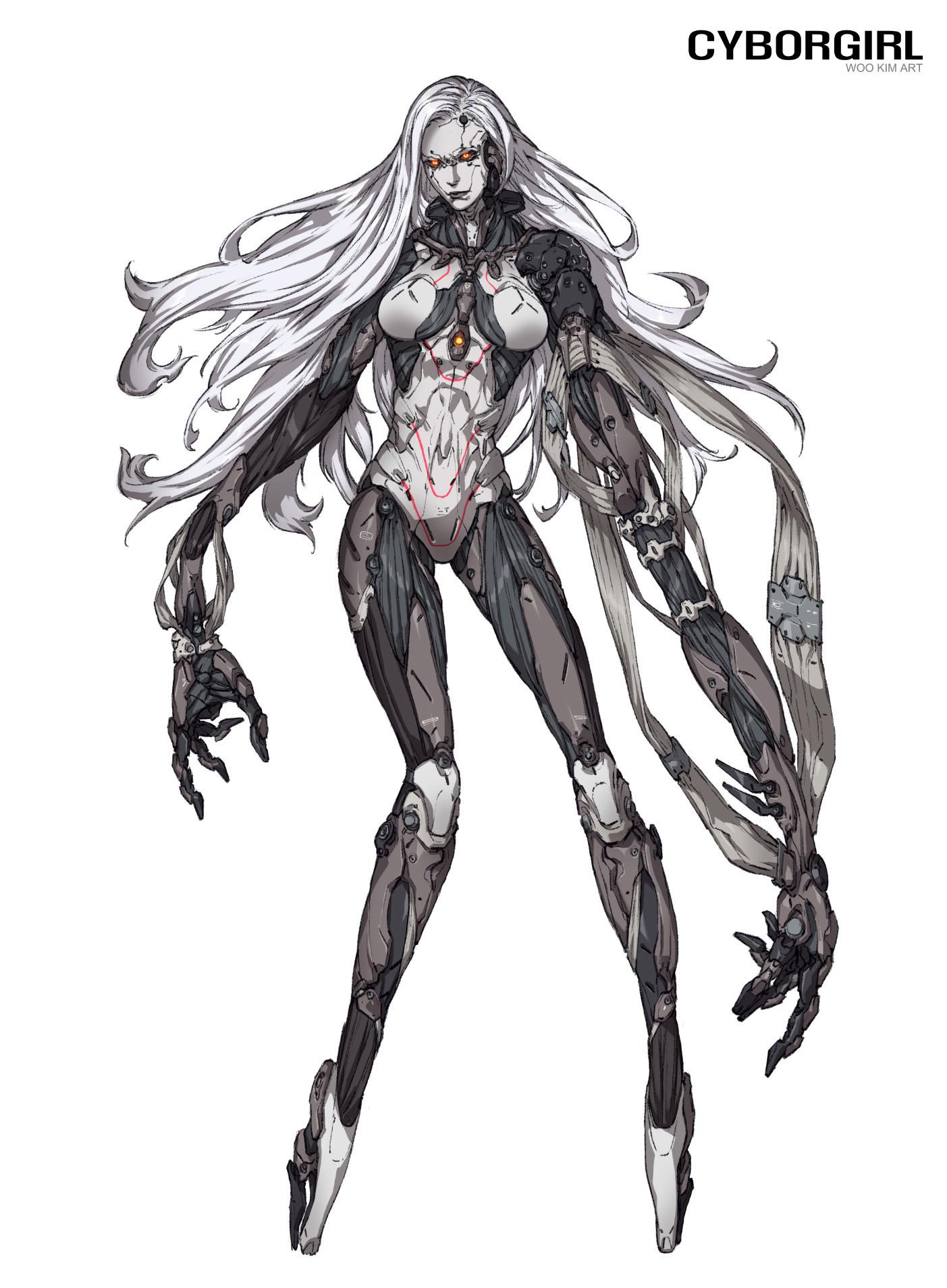 Woo kim cyborgirl creature 01