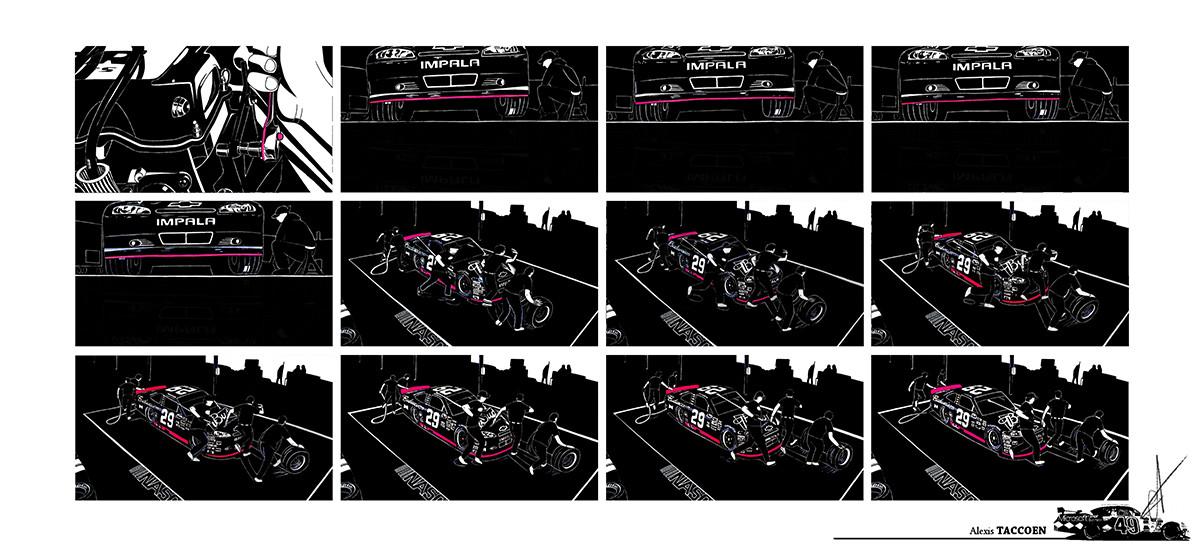 Alexis taccoen nascar graphics 02