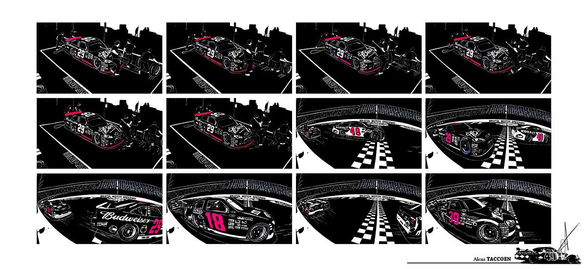 Alexis taccoen nascar graphics 03