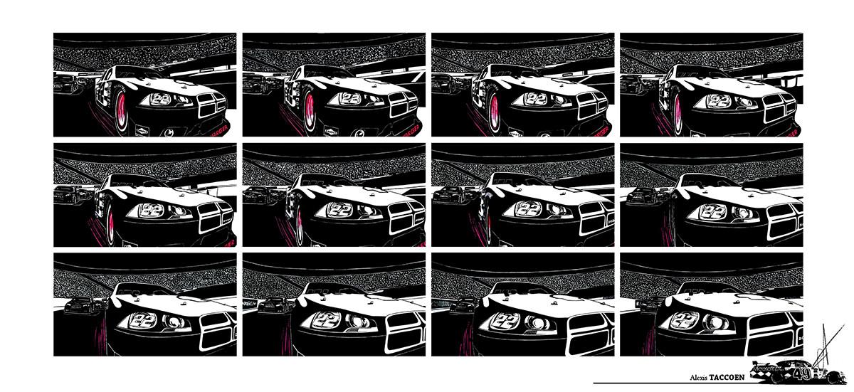 Alexis taccoen nascar graphics 05