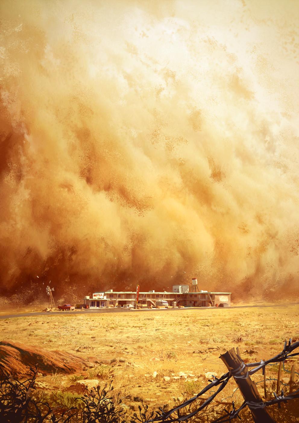 Dark Days : the sandstorm
