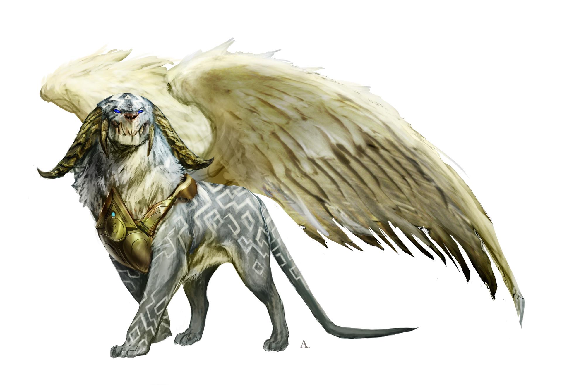 Aleksi briclot magic hook concept azorius creature archon