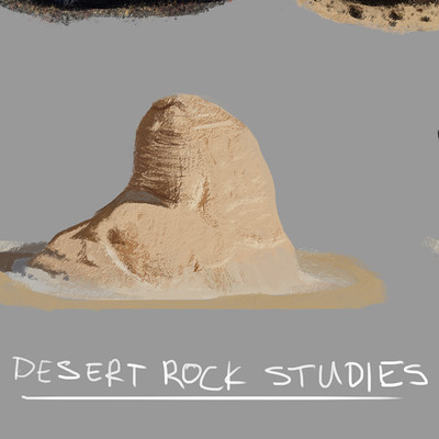 James ball desert rock studies
