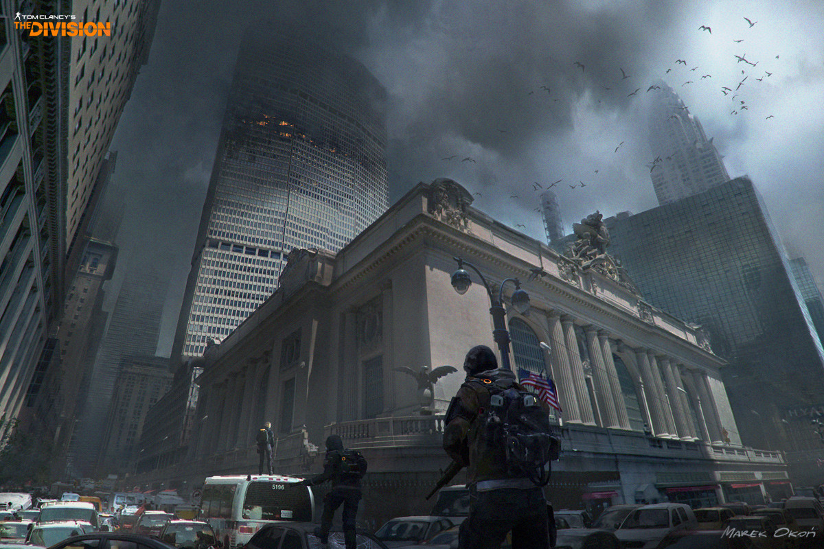 """Tom Clancy's The Division"" mood concepts"