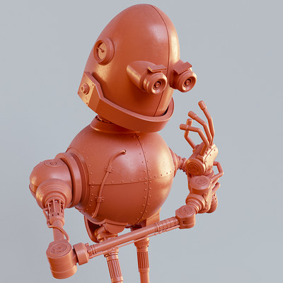 Anthony pilon little robot