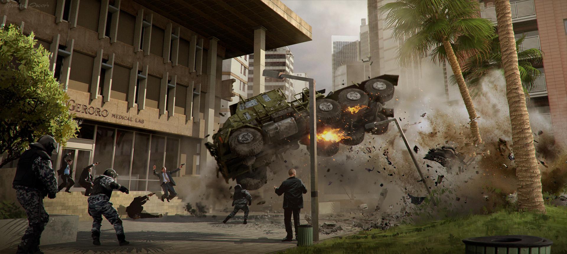 Captain America : Civil War - Biolab part I