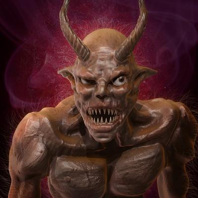 Obum asota demonsculptfinished