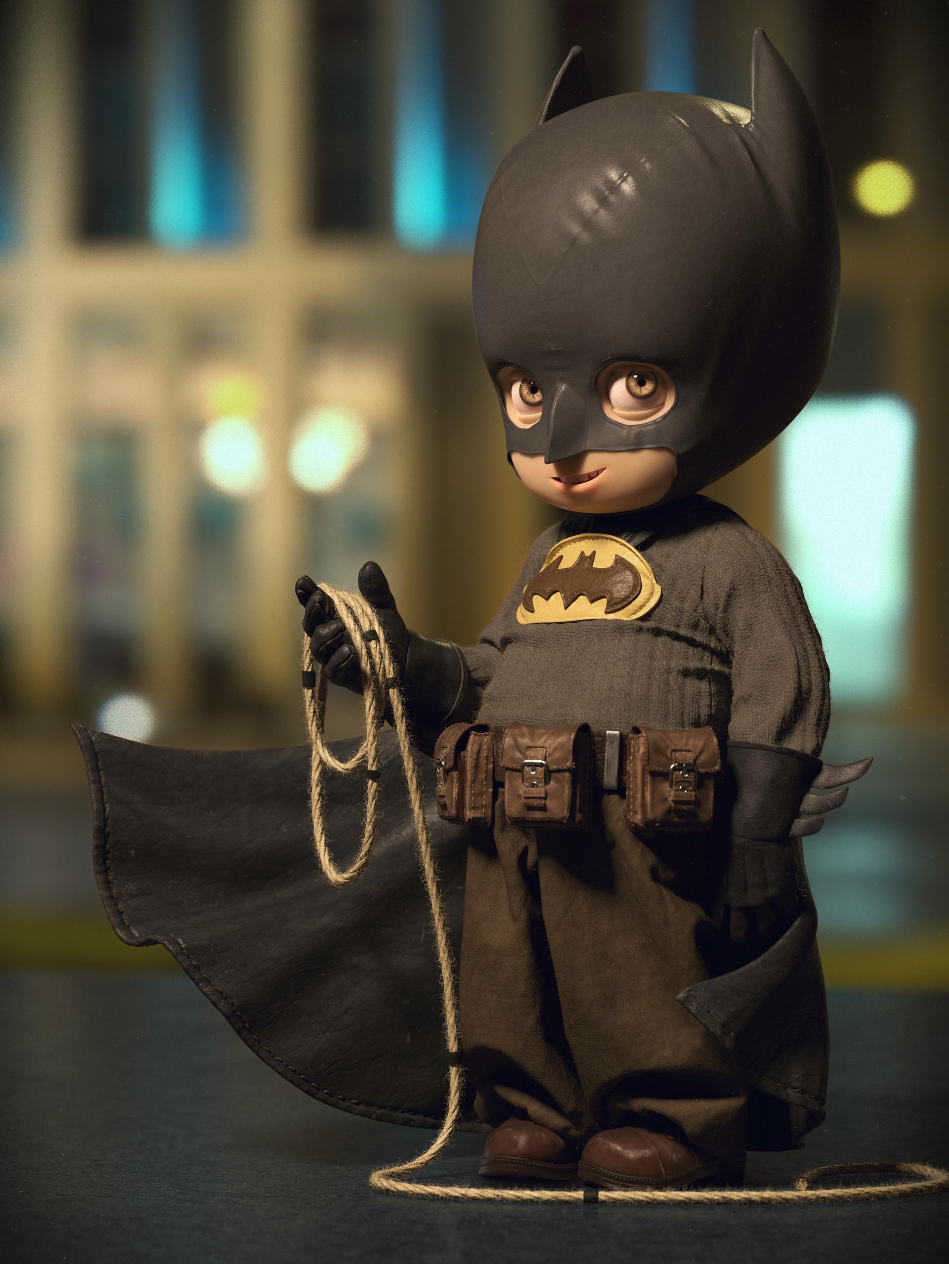 Quentin chaillet batman cute hd