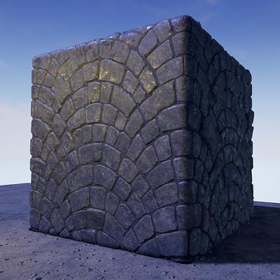 David decoster cobblestone fan