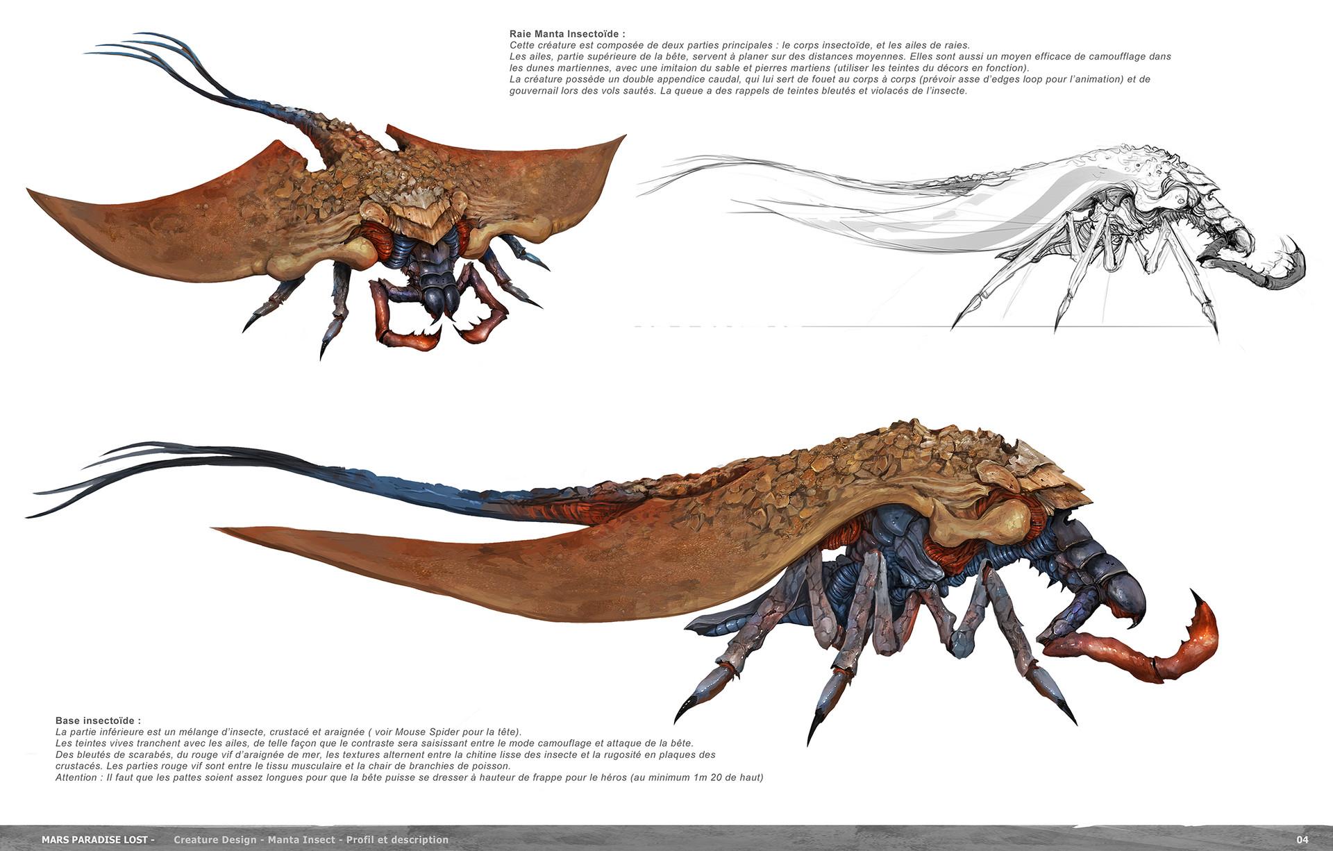 Alexandre chaudret mpl creature manta insect final02