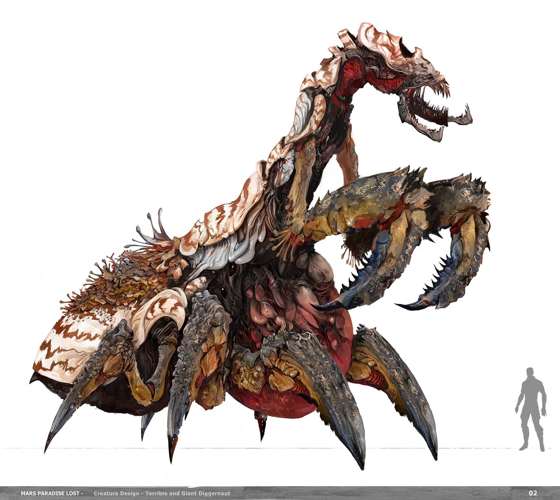 Alexandre chaudret mpl creature diggernaut final03
