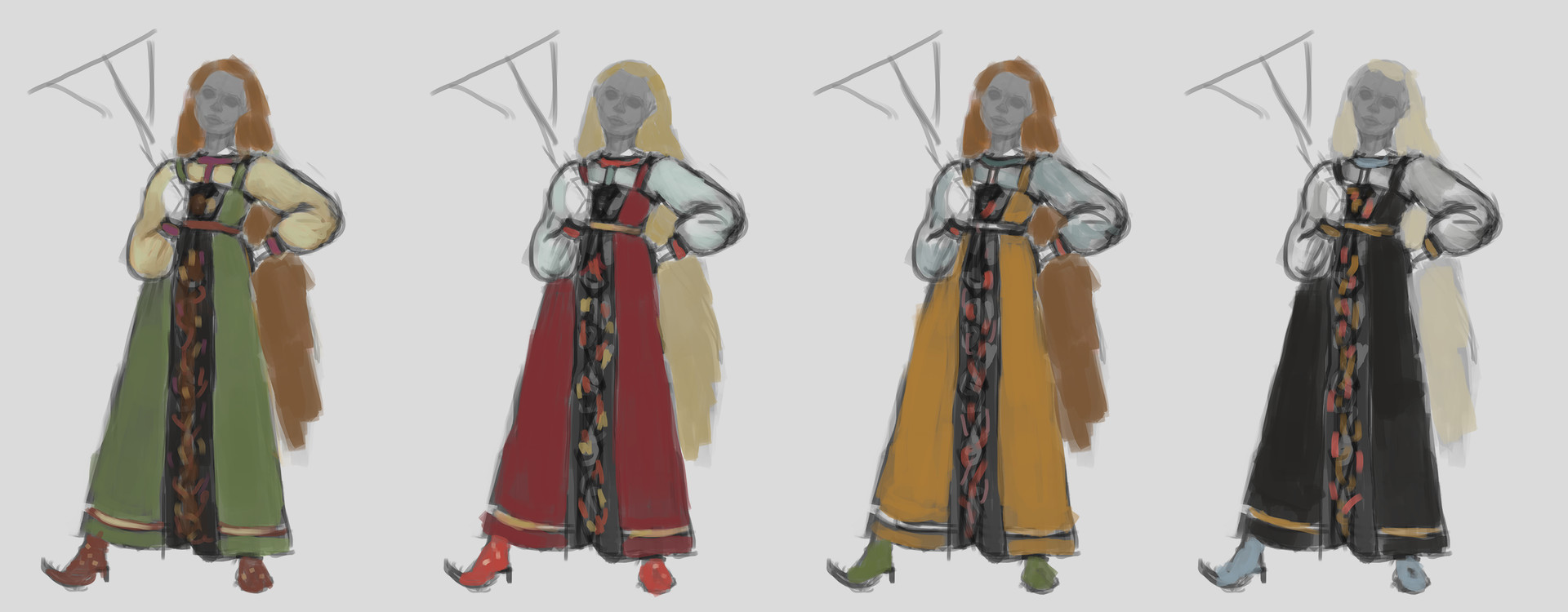 Maya grishanowitch alenyshka test color