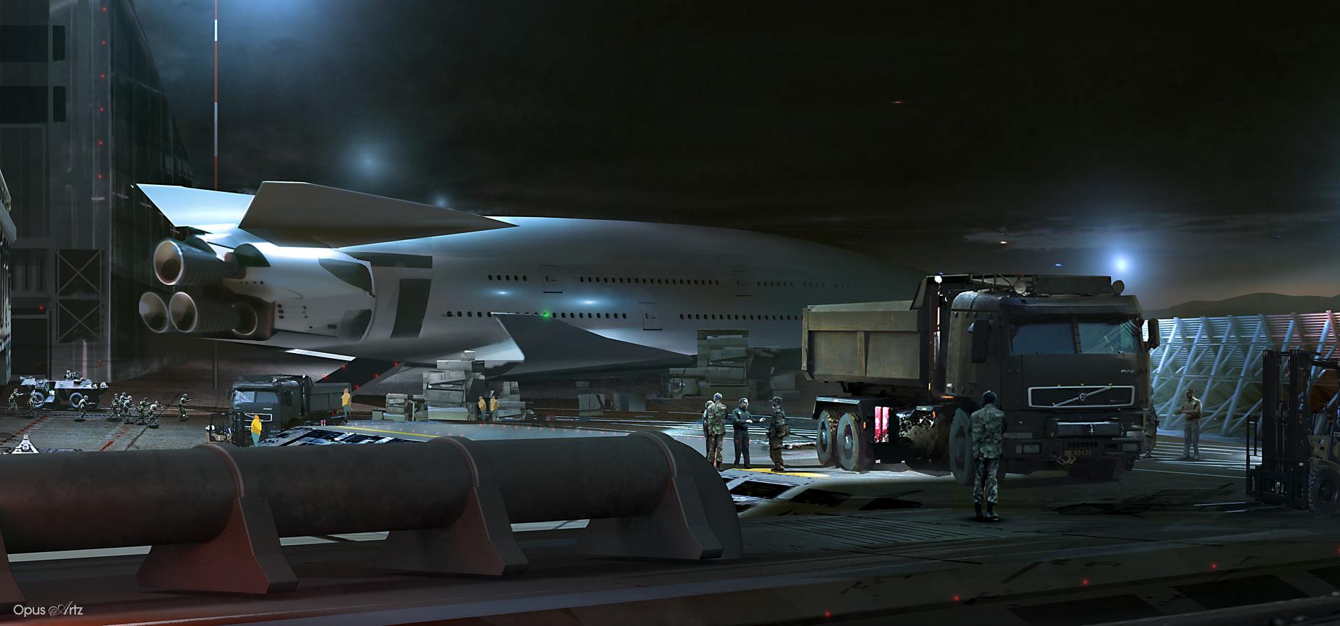 Opus artz mega shuttle