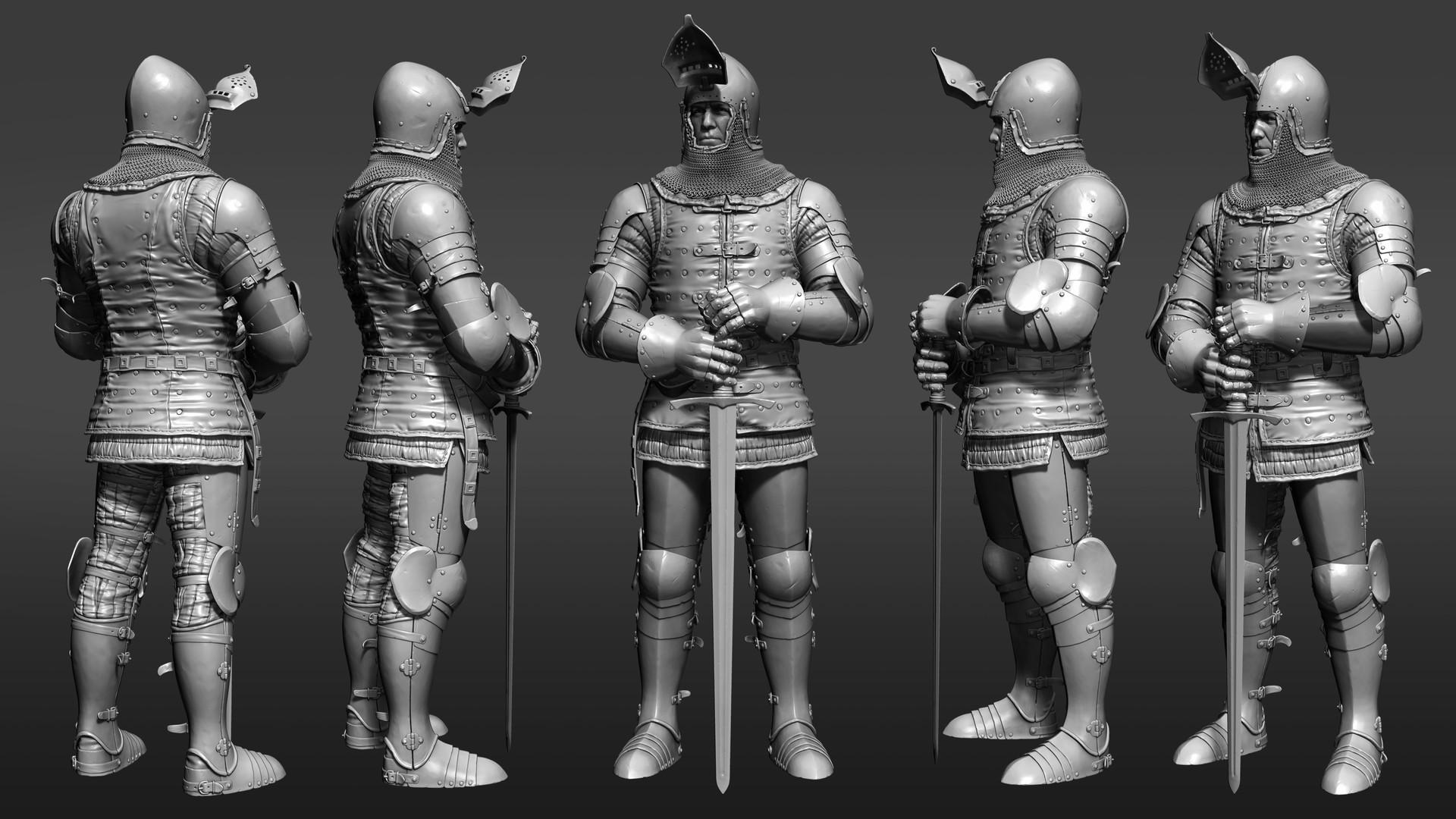Petr sokolov artpity knight hp side