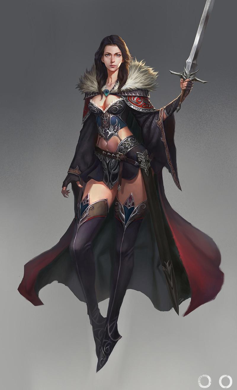 Joo joo sword girl 4 s