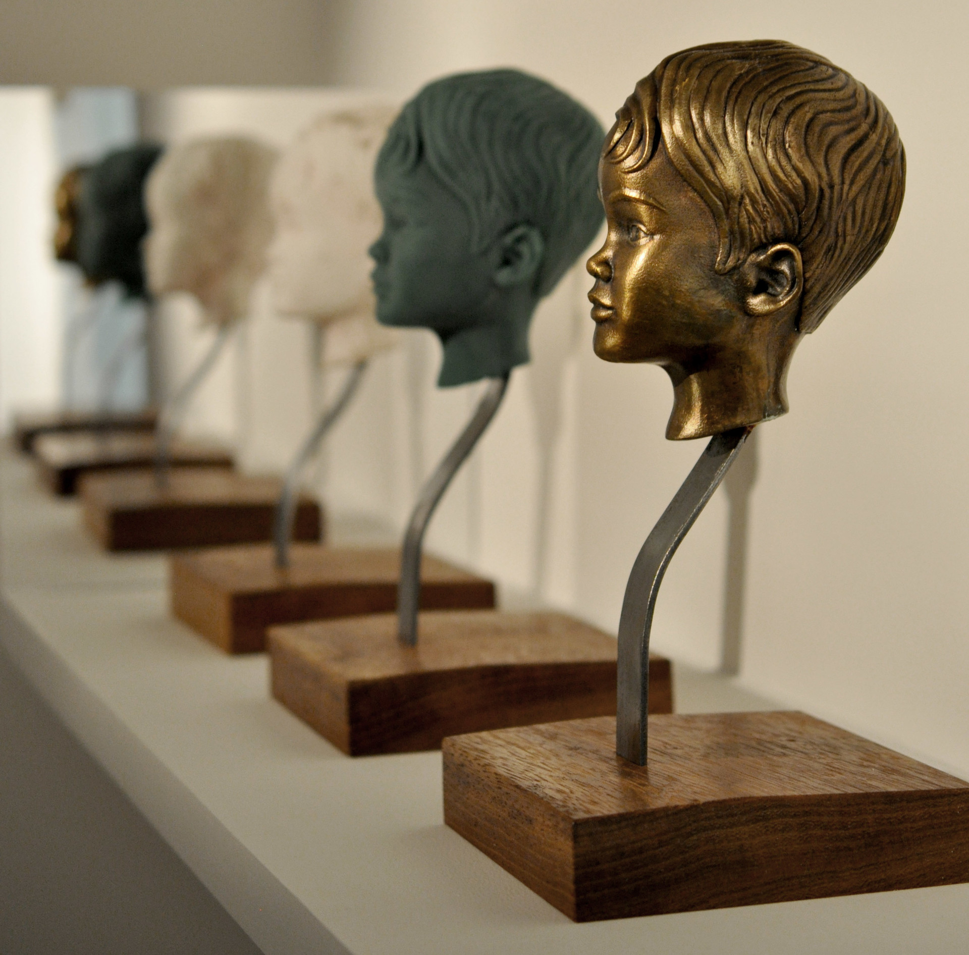 Achie_Z Brush Study & Bronzed 3D Print