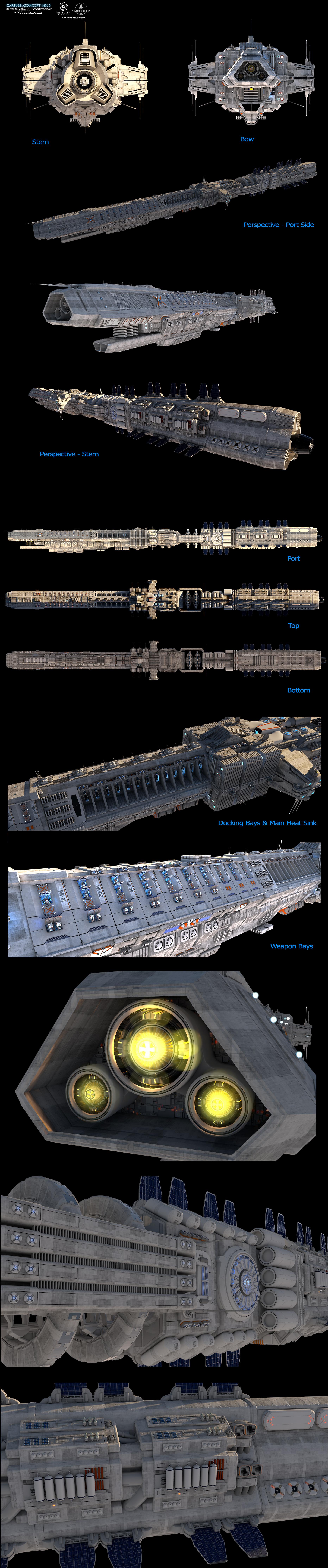 Glenn clovis carrier concept mk5 by glennclovis